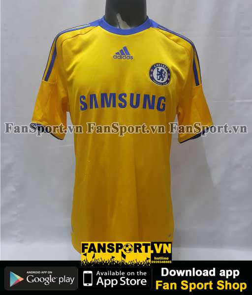 Áo đấu Chelsea 2008-2009 away shirt jersey yellow