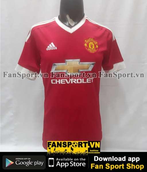 Áo đấu Manchester United 2015-2016 home shirt jersey red
