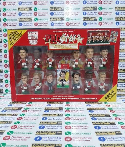 Bộ tượng Arsenal 1999-2000 Corinthian home pack set figure