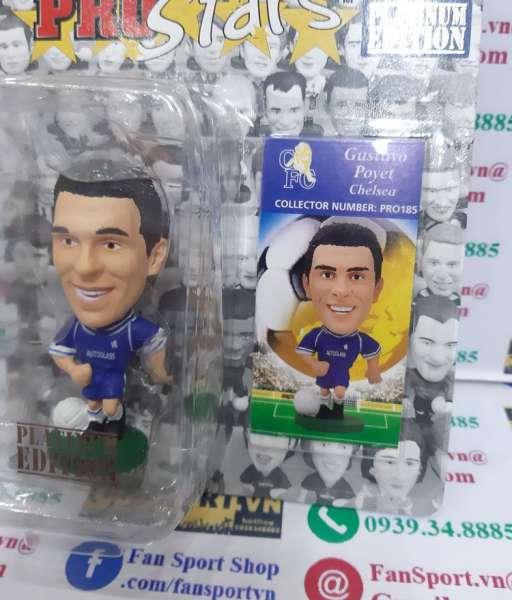 Tượng Gustavo Poyet 8 Chelsea 1999-2001 home corinthian figure PRO185