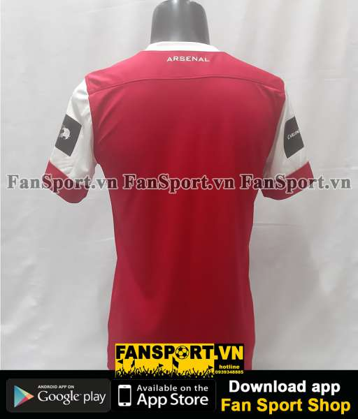 Áo Arsenal League Cup Final 2011 home shirt jersey 2010 Carling Cup