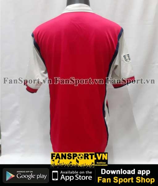 Áo đấu Arsenal FA Cup final 2002 home shirt jersey red 2000 2001