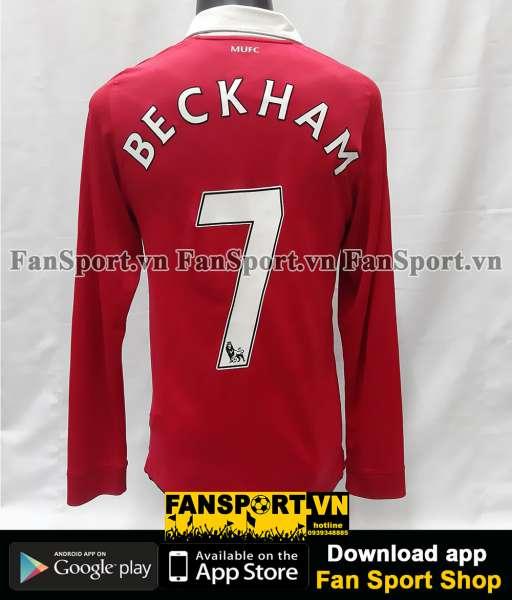 Áo Beckham #7 Manchester United 2010-2011 Testimonial Neville shirt
