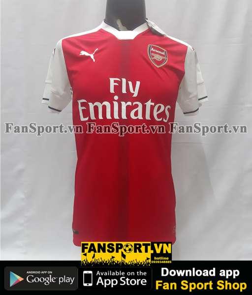 Áo đấu Arsenal 2016-2017 home shirt jersey red BNWT