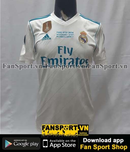 Áo Ronaldo 7 Real Madrid Champion League Final 2018 home shirt jersey