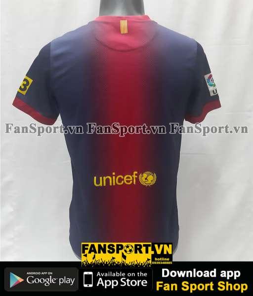 Áo đấu Barcelona 2012-2013 home shirt jersey red blue