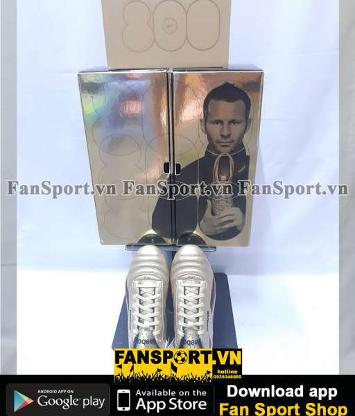 Shoes Giggs RG80 Manchester United Reebook limited edition box set