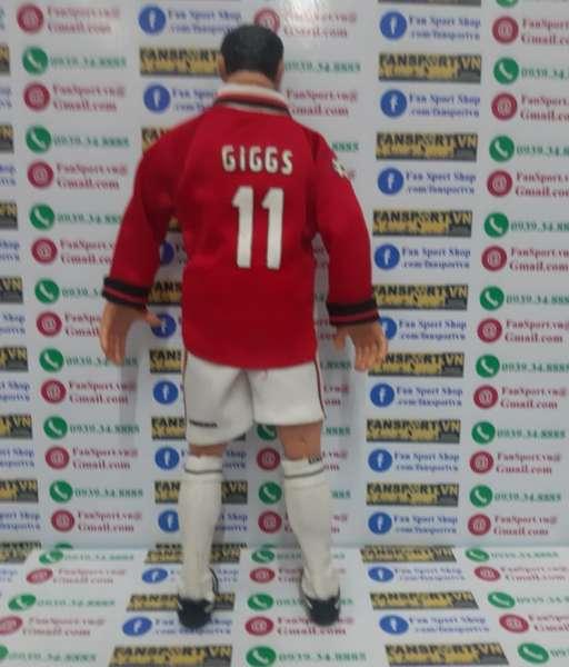Tượng Ryan Giggs #11 Manchester United Hero Treble 1999 figure red
