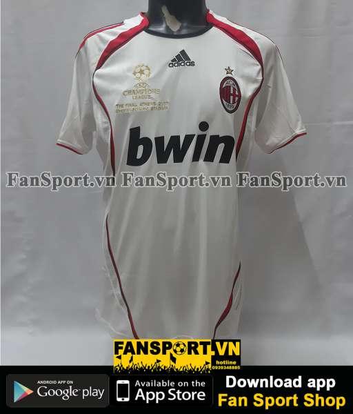 Áo AC Milan Champion League Final 2007 away shirt Kaka Pirlo Maldini