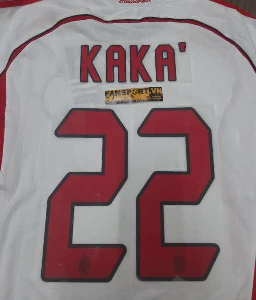 Font Kaka 22 AC Milan Champion League Final 2006-2007 away nameset