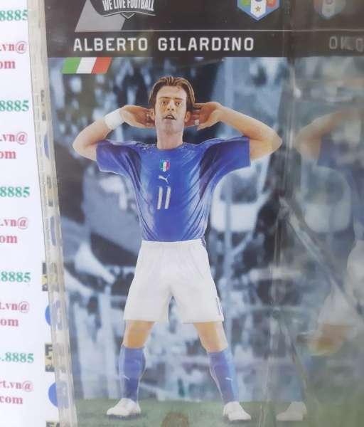 Tượng Alberto Gilardino 11 Itally World Cup 2006 blue Fanatico new