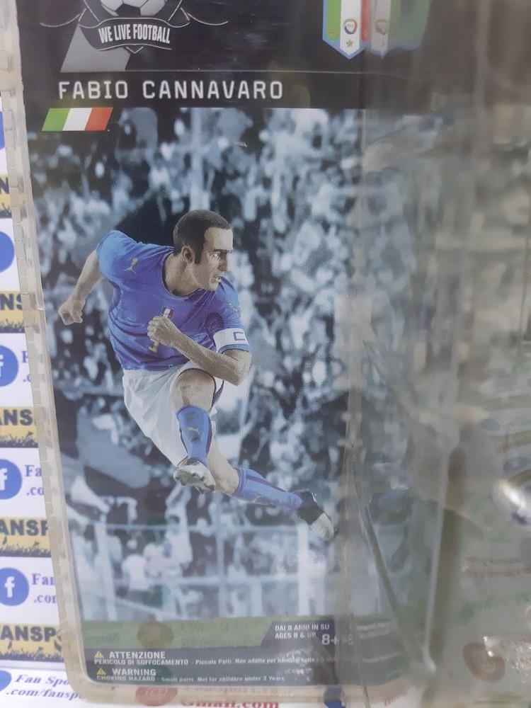 Tượng Fabio Cannavaro 5 Itally World Cup 2006 blue Fanatico new