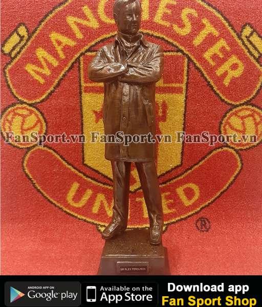 Tượng Sir Alex Ferguson Manchester United figure Old Trafford 1:13