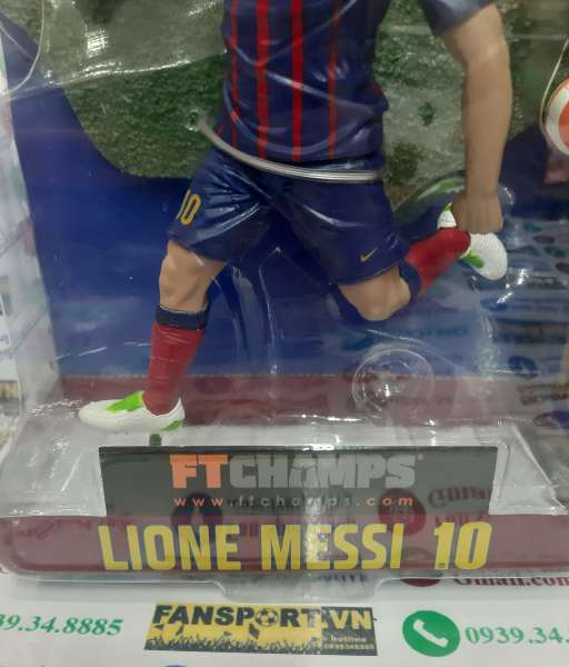 Tượng Mess 10 Barcelona home FT Champs 15cm blister action figure