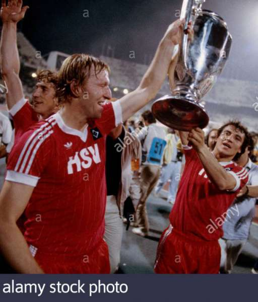 1983 Hamburger SV European Cup gold medal final huy chương 1982