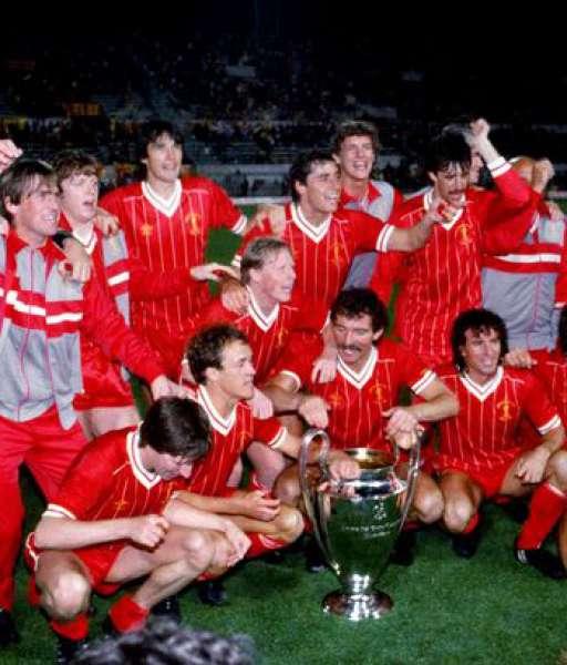 1984 Liverpool European Cup gold medal final huy chương 1983