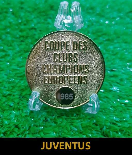 1985 Juventus European Cup gold medal final huy chương 1984