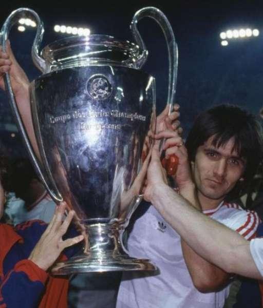 1986 Steaua Bucuresti European Cup gold medal final huy chương 1985
