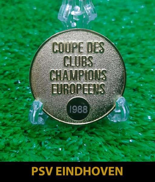 1988 PSV Eindhoven European Cup gold medal final huy chương 1987