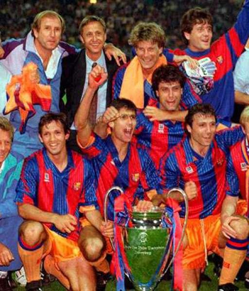 1992 Barcelona European Cup gold medal final huy chương 1991