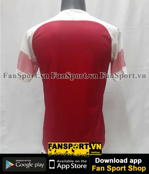 Áo Arsenal Europa League Final 2019 home shirt jersey red BNWT 2018 S