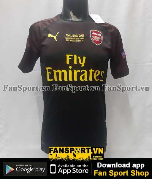Áo thủ môn Arsenal Europa League Final 2019 home shirt goalkeeper BNWT