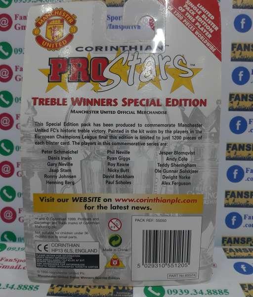 Manchester United Treble winner 1999 corinthian set blister limited