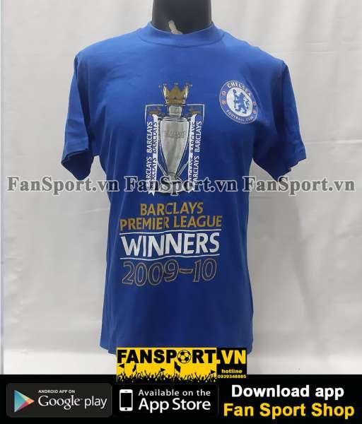 Áo T-shirt Chelsea Double Winner 2009-2020 Premier League FA Cup