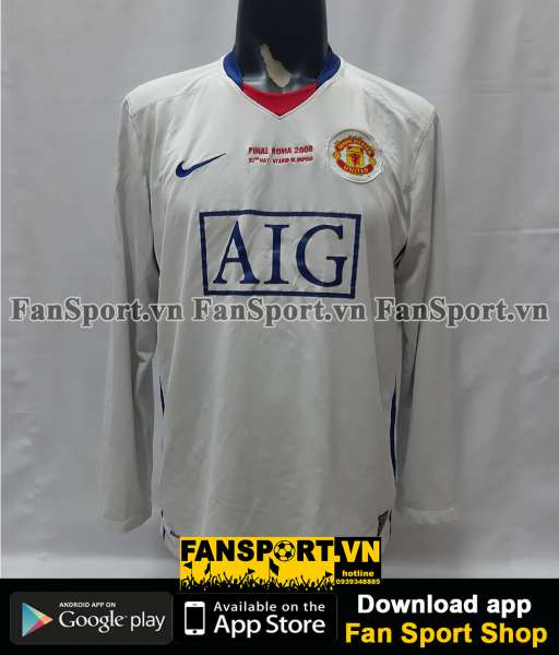 Áo Ronaldo 7 Manchester United Champion League Final 2009 away shirt