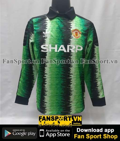 Áo Manchester United Cup Winner Cup Final 1991 shirt goalkeeper GK