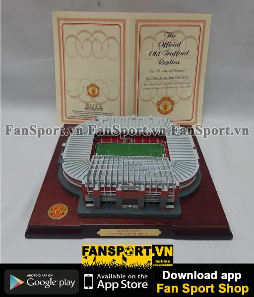 Mô hình gỗ Old Trafford Manchester United Premier Collectable limited