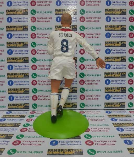 Tượng Paul Scholes 8 England 2003 2004 2005 home figure 25cm
