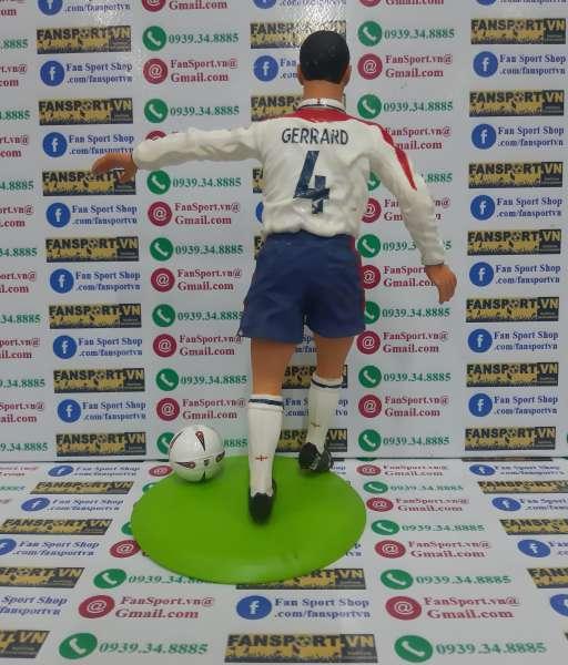 Tượng Steven Gerrard 4 England 2003 2004 2005 home figure 25cm
