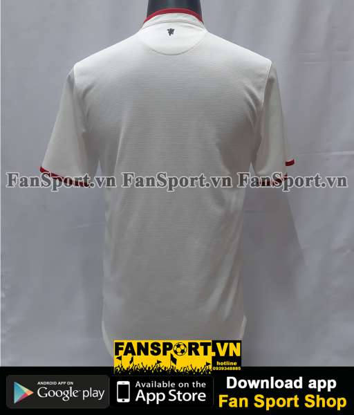 Áo đấu Manchester United 2012-2014 away third shirt jersey white