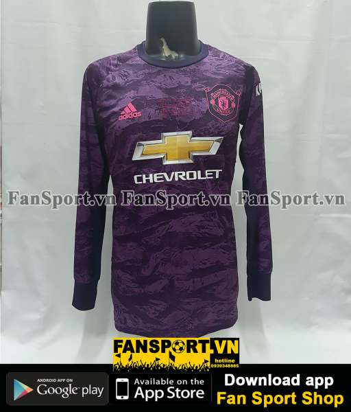 Áo GK Schmeichel Manchester United 2019-2020 Treble shirt goalkeeper