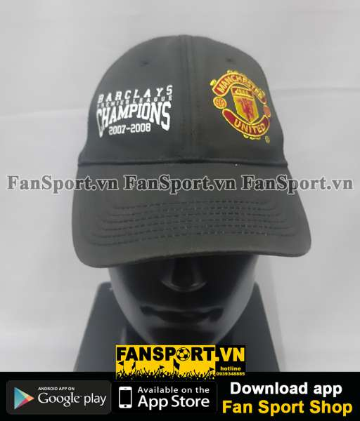 Nón Manchester United Premier League 2007-2008 Champions Winner cap