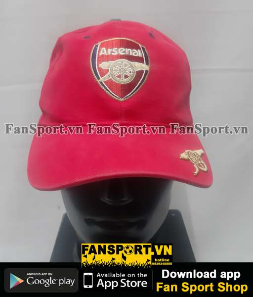 Nón Arsenal red cap hat