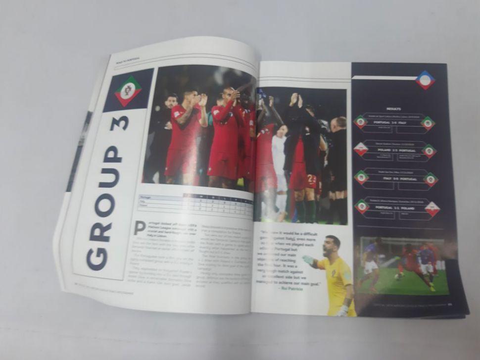 Programme UEFA Nations League 2019 Portugal Netherlands