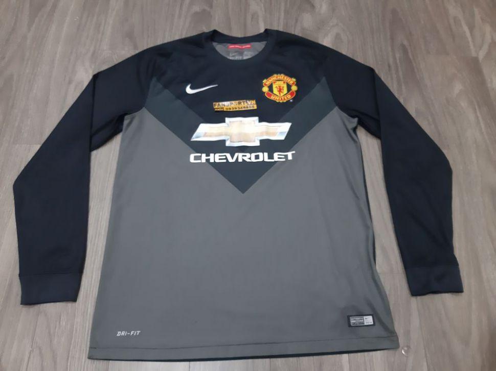 Áo thủ môn Manchester United 2014-2015 home goalkeeper black