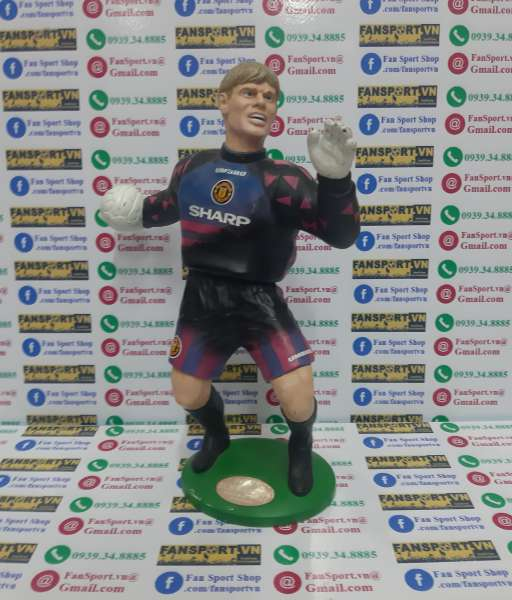 Tượng Schmeichel Manchester United 1996-1997 home Soccer Super Heroes