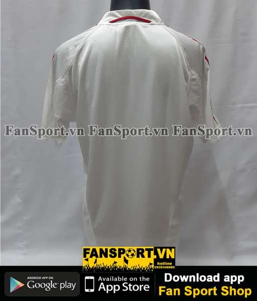 Áo AC Milan Champion League Final 2005 away shirt jersey white 2004