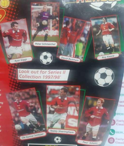 Set 6 tượng Super Hero Keane Sheringham Solskjaer Cantona Becham Giggs