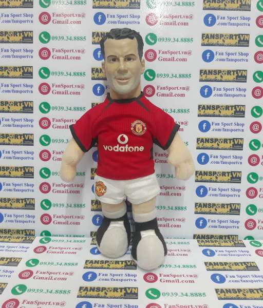Thú bông Giggs 11 Manchester United 2002-2003-2004 home red