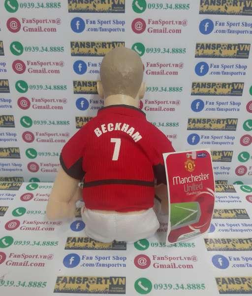 Thú bông Beckham 7 Manchester United 2002-2003-2004 home red
