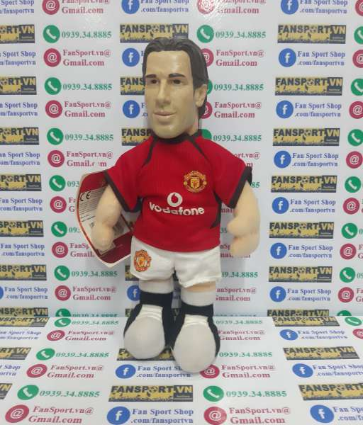Thú bông Nistelrooy 10 Manchester United 2002-2003-2004 home red