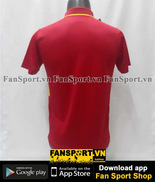 Áo đấu Việt Nam 2017 home đỏ shirt jersey Vietnam Grand Sport size S