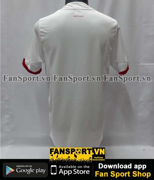 Áo Việt Nam 2015 away trắng shirt jersey Vietnam Grand Sport XL player