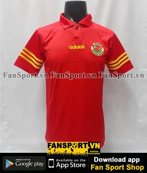 Áo đấu Việt Nam 1998-1999 home đỏ shirt jersey Vietnam Adidas retro