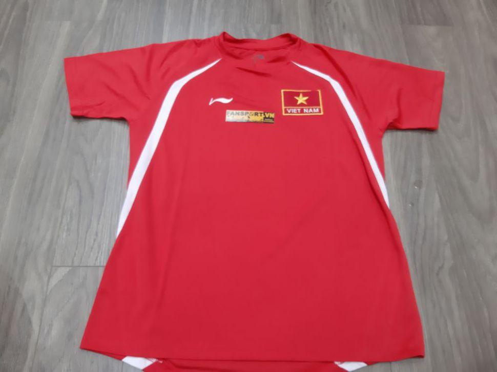 Áo đấu Việt Nam 2007-2008 home đỏ shirt jersey Vietnam Li-ning retro