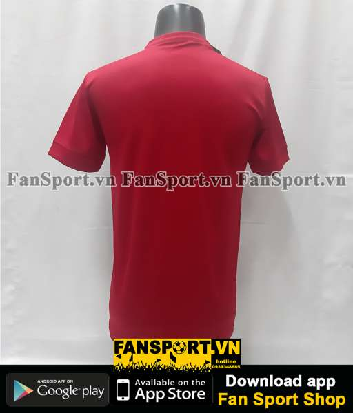 Áo đấu Việt Nam 2016 home đỏ Grand Sport player Vietnam shirt jersey M